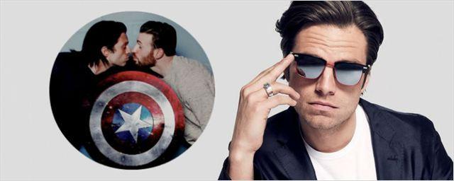 Sebastian Stan opina sobre fãs torcerem pelo romance entre Capitão América e Bucky