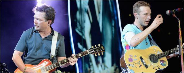 Michael J. Fox e Coldplay se unem para tocar músicas de De Volta Para o Futuro