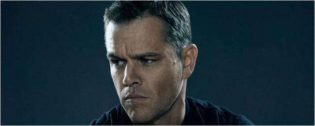 Matt Damon só tem 25 linhas de diálogo em Jason Bourne