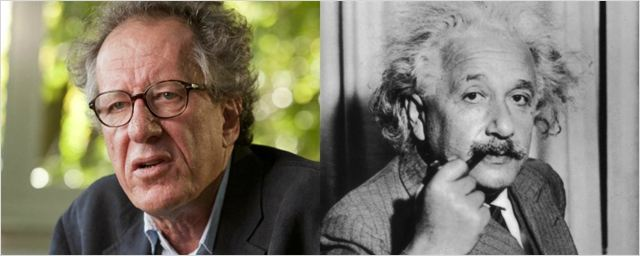 Geoffrey Rush será Albert Einstein em nova série do National Geographic