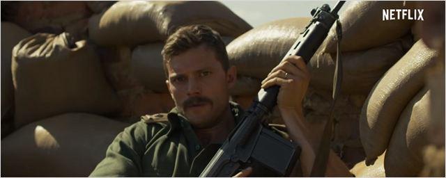 Jamie Dornan vai à guerra no trailer de Jadotville, baseado em fatos reais