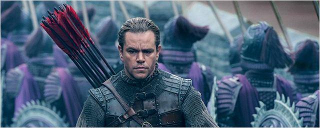 A Grande Muralha: Veja o novo trailer do épico chinês estrelado por Matt Damon