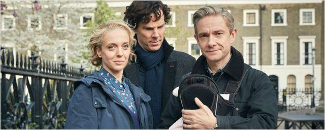 Sherlock: Fotos da quarta temporada apresentam vilão misterioso e novo membro da família Watson