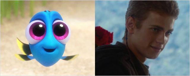 Trailer honesto de Procurando Dory compara peixinha azul a Anakin Skywalker