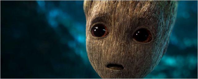 Guardiões da Galáxia Vol. 2: Novo vídeo mostra Bebê Groot descobrindo o botão da morte