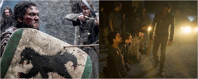 Infográfico compara The Walking Dead e Game of Thrones e analisa qual das duas tem mais mortes