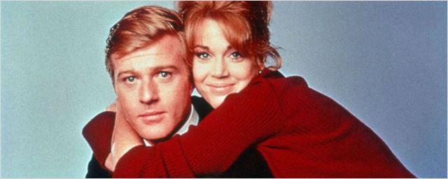 Robert Redford e Jane Fonda se reencontram na primeira imagem do novo romance da Netflix