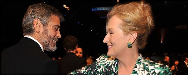 "George Clooney defende Meryl Streep de Donald Trump, que chamou a atriz de ""superestimada"""