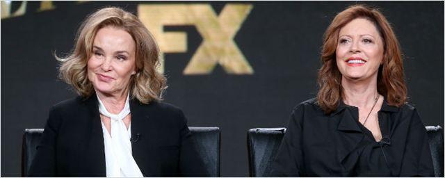 Veja a primeira imagem promocional de Feud: Bette and Joan, antologia com Susan Sarandon e Jessica Lange
