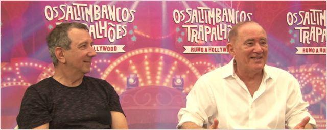 'A tecnologia ajudou meu humor de palhaço', diz Renato Aragão, que estreia Os Saltimbancos Trapalhões - Rumo a Hollywood (Exclusivo)
