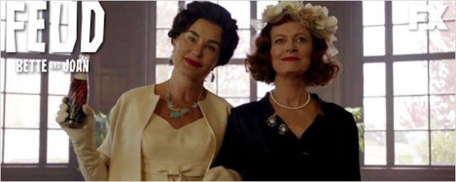 Novo teaser de Feud: Bette and Joan destaca seu estrelado elenco