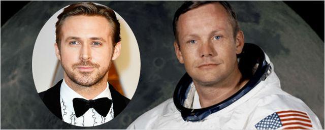 Estrelada por Ryan Gosling, biografia de Neil Armstrong ganha data de lançamento