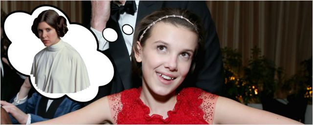 Millie Bobby Brown, a Eleven de Stranger Things, revela gostaria de interpretar a Princesa Leia
