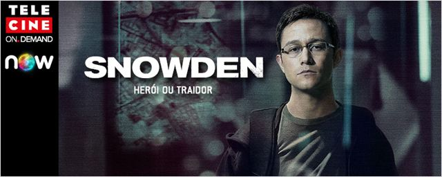 Snowden - Herói ou Traidor entra para o catálogo do Telecine On Demand