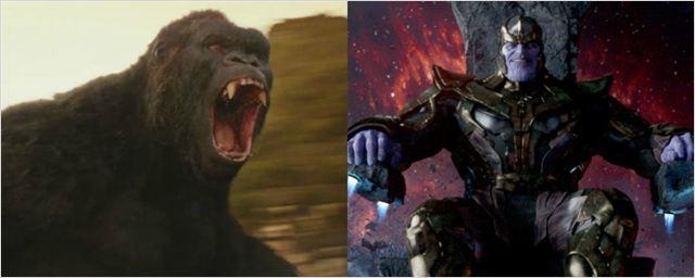 Intérprete de Kong em A Ilha da Caveira vai fazer 'capanga' de Thanos em Vingadores: Guerra Infinita