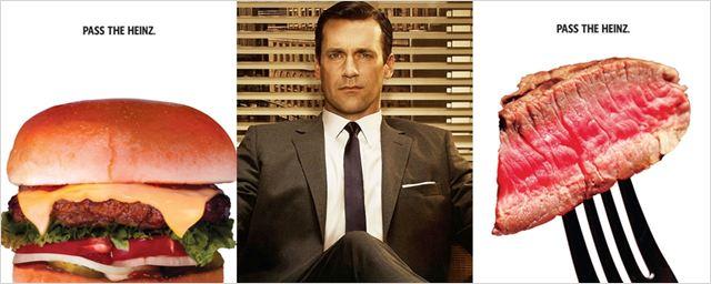 50 anos depois, Heinz aprova campanha criada por Don Draper em Mad Men
