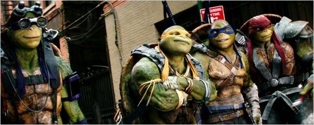 As Tartarugas Ninja - Fora das Sombras chega ao Telecine Play