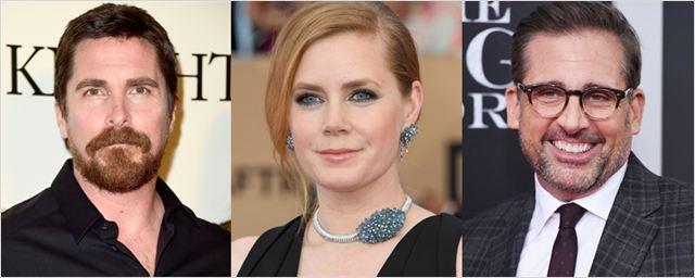 Christian Bale, Amy Adams e Steve Carell são cotados para biografia de antigo vice-presidente dos Estados Unidos
