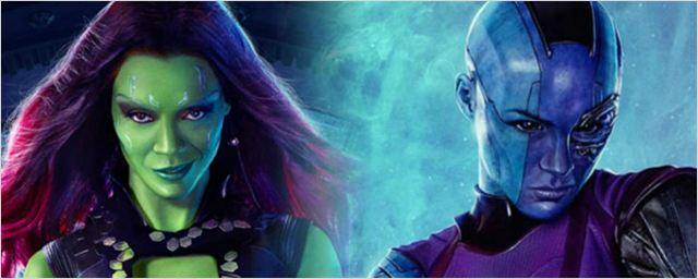 Disputa (nada saudável) entre as irmãs Gamora e Nebula é o destaque do novo comercial de Guardiões da Galáxia Vol. 2