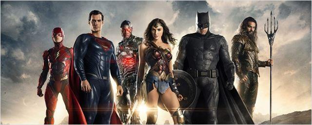 Heróis unidos e poderosos em novo cartaz de Liga da Justiça