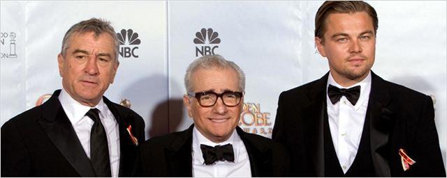 Martin Scorsese, Leonardo DiCaprio e Robert De Niro podem trabahar juntos em filme