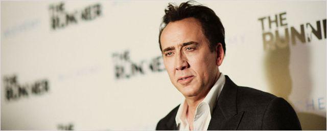 Nicolas Cage fratura tornozelo nas gravações de filme de ação