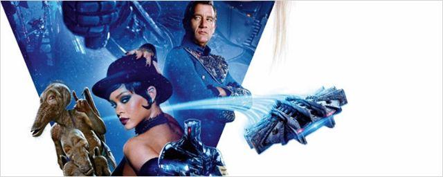 Rihanna e aliens disputam espaço com Cara Delevingne e Dane DeHaan em pôster de Valerian e a Cidade dos Mil Planetas