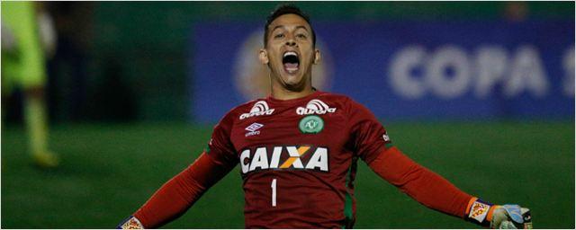 Danilo, goleiro e herói da Chapecoense, ganhará cinebiografia