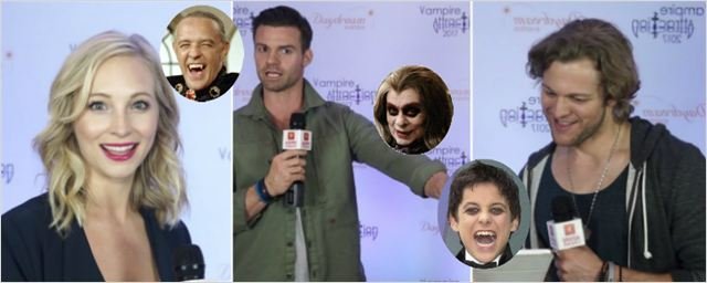 Hilário: Elenco de The Vampire Diaries e The Originals conhece 'vampiros brasileiros' (Exclusivo)