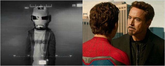 Tom Holland confirma teoria de que Peter Parker apareceu em Homem de Ferro 2