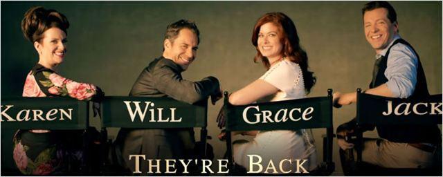 Will & Grace: Protagonistas estão prontos para festejar em novo teaser do revival