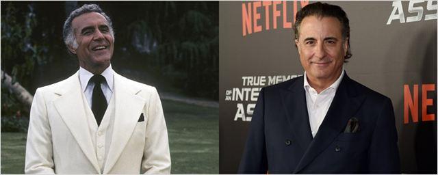 Andy García une-se a Jamie Dornan e Peter Dinklage no elenco do telefilme My Dinner With Hervé