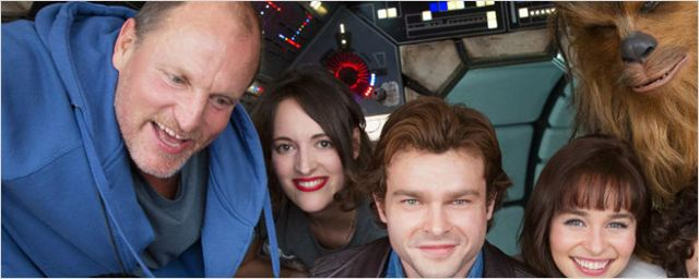 Han Solo: Alden Ehrenreich e Woody Harrelson são flagrados nas gravações do spin-off