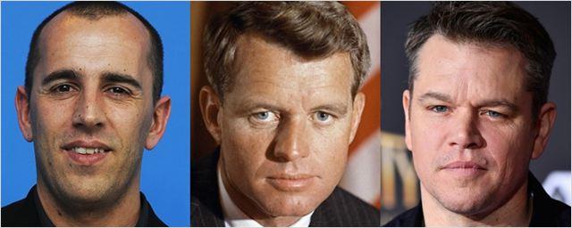 Diretor de A Torre Negra vai comandar biografia de Robert F. Kennedy estrelada por Matt Damon