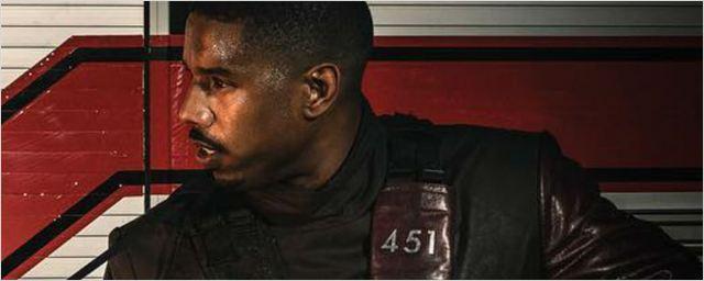 Michael B. Jordan divulga primeira imagem da adaptação do clássico Fahrenheit 451