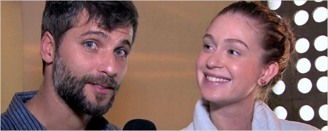 Visita ao set: Bruno Gagliasso e Marina Ruy Barbosa são um casal apaixonado em Todas as Canções de Amor (Exclusivo)