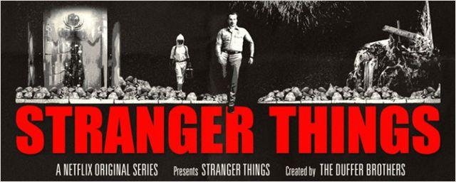 Stranger Things ganha cartaz inspirado em filme de Arnold Schwarzenegger