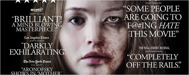 Mãe!: Novo cartaz destaca a controvérsia e as críticas negativas recebidas pelo filme