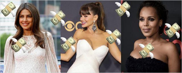As atrizes mais bem pagas da TV norte-americana em 2017 segundo a Forbes