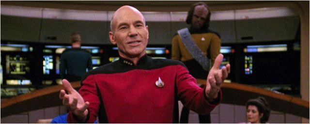 Trailer honesto de Jornada nas Estrelas: A Nova Geração diz que Patrick Stewart era bom demais para a série