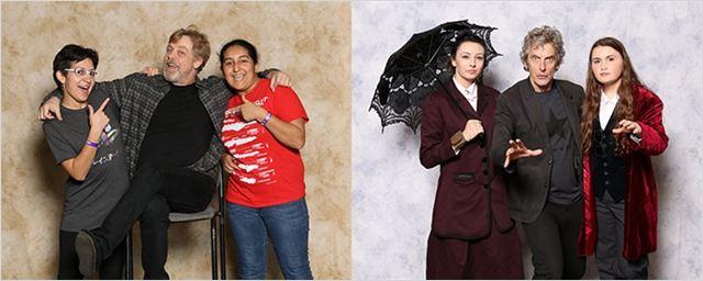 New York Comic Con 2017: Saiba quanto custa para tirar fotos com Mark Hamill e Peter Capaldi