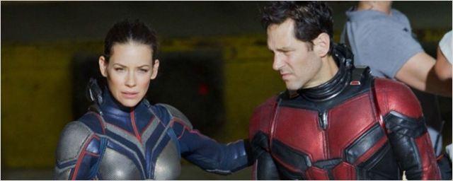 Homem-Formiga e a Vespa: Paul Rudd e Evangeline Lilly aparecem uniformizados em fotos do set