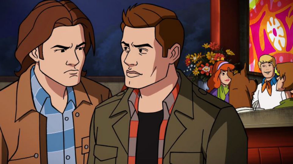 Scoobynatural Vdeo Mostra Gravaes Do Crossover Entre Scooby Doo