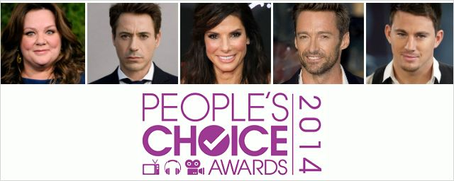 People's Choice Awards: Sandra Bullock, Robert Downey Jr. e Hugh Jackman lideram as indicações